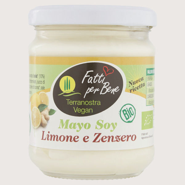 Picture of Mayo di Soia Limone e Zenzero Bio 170gr