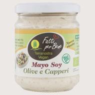 Immagine di Mayo di Soia con Olive e Capperi Bio 170gr