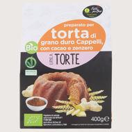 Picture of Preparato per Torta Cacao Limone e Zenzero Bio 400gr