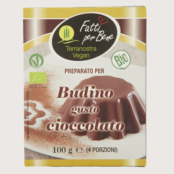 Immagine di Preparato per Budino al Cioccolato Bio 2x50gr