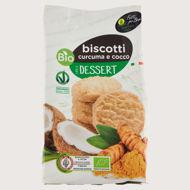Picture of Biscotti Curcuma e Cocco Bio 200gr
