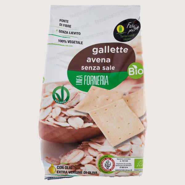Picture of Gallette  di Avena Senza Sale Bio 200gr