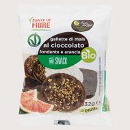 Picture of Gallette di Mais con Cioccolato Fondente e Arancio Bio 32gr