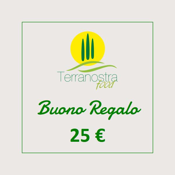Immagine di Buono Regalo 25 €