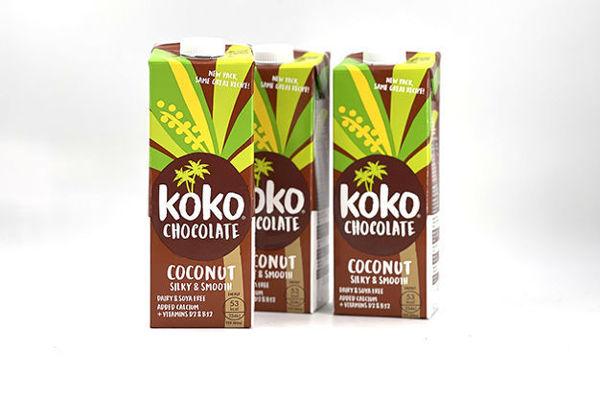 Immagine di Koko Dairy Free al Cioccolato 12 Confezioni da 1 Litro (12 Litri)